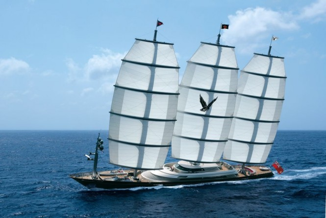 Superyacht MALTESE FALCON - Built by Perini Navi