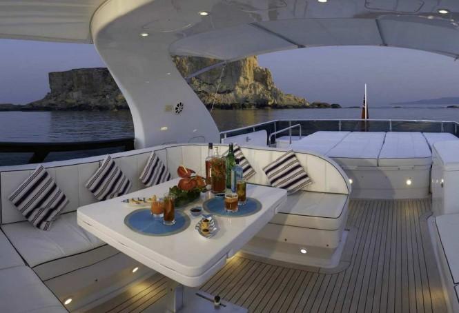 Superyacht MEME - Flybridge