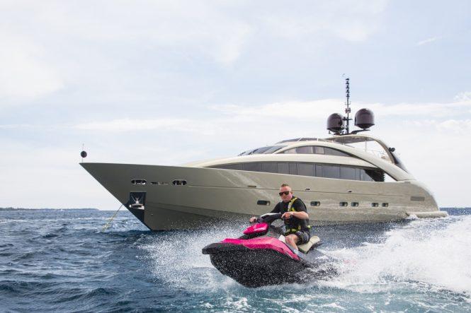 Superyacht MIDNIGHT SUN - Built by ISA