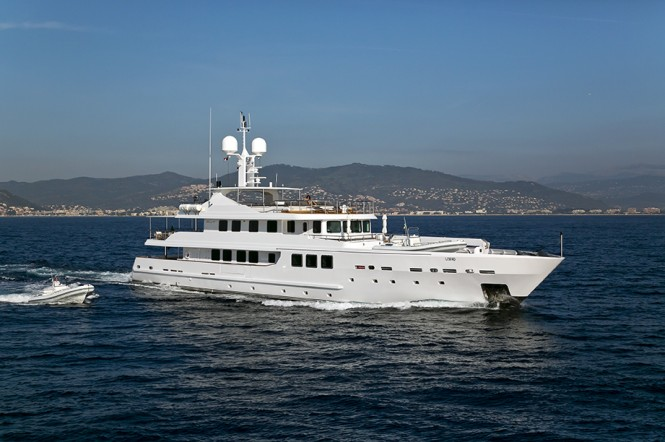 Superyacht OUT - Built by AMTEC and currently available for charter in the Balearic Islands