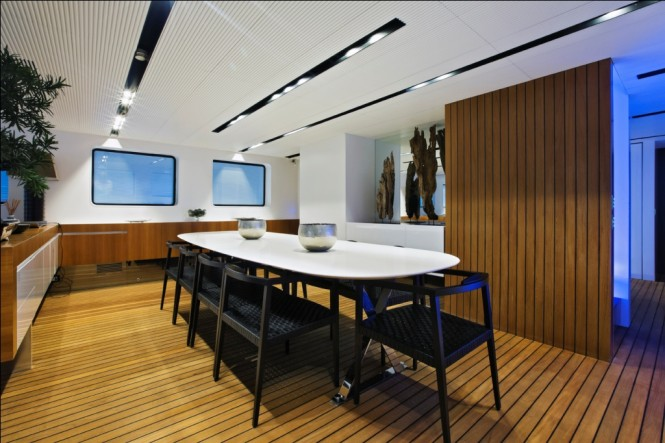Superyacht OUT - Formal dining area
