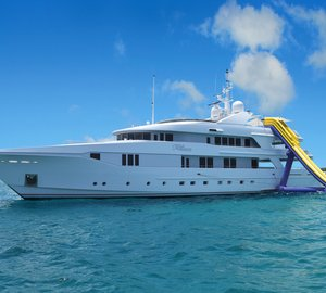 Superyacht Rhino available for the winter season in the Caribbean