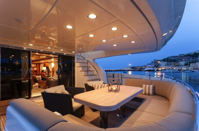 Superyacht ZAMBEZI - Main deck aft