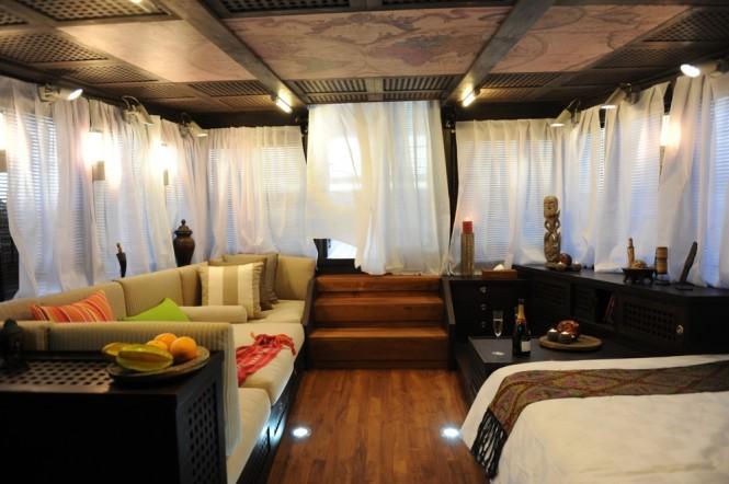 Superyacht ZEN - Cabin interior