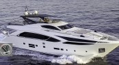 The Amer Cento quad motor yacht is the first luxury yacht to have quad-pod propulsion installed