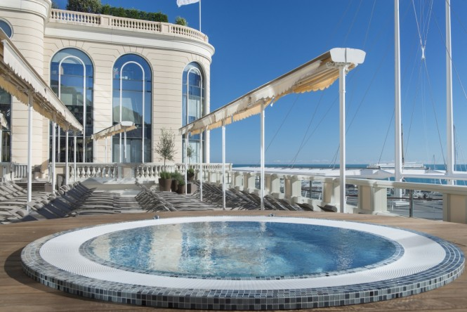 Thermes Marins Monte-Carlo, Moncao on the Cote d'Azur. Photo credit: Monaco Press Centre Photos