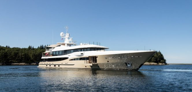 Amels superyacht LILI - Photo credit Jeff Brown for Imperial
