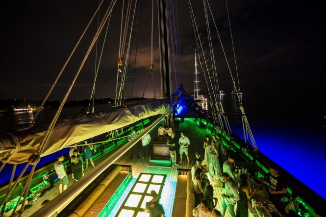 Asia Superyacht Rendezvous Cup - Onboard reception