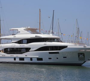 Second Mediterraneo 116' superyacht launched by Benetti