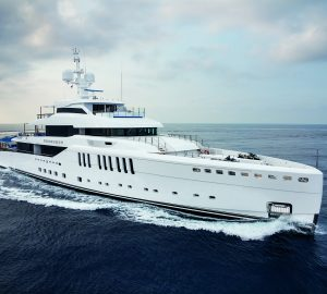 Highly anticipated Benetti superyacht Seasense in attendance at the Monaco Yacht Show