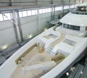 Conrad Shipyard announces superyacht C133 approaching completion