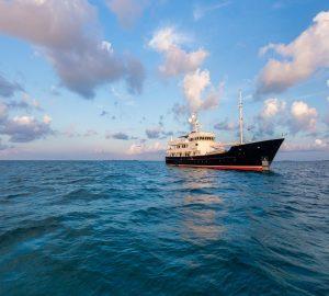 Charter explorer yacht Pioneer in the Western Mediterranean