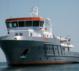 Explorer yacht Genesia - First hull in the Ocean King 130 range