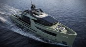 FOR.TH luxury yacht concept - Aerial view
