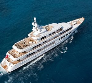 Charter exceptional Feadship motor yacht Utopia in the Caribbean