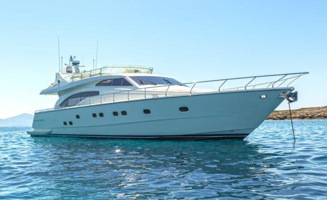 Ferretti motor yacht MELI