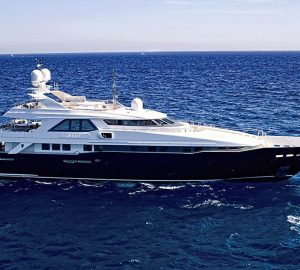 Charter Heesen superyacht Kijo in the Mediterranean