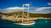 Luxury schooner ZANZIBA - Built by Archipelago Yachts