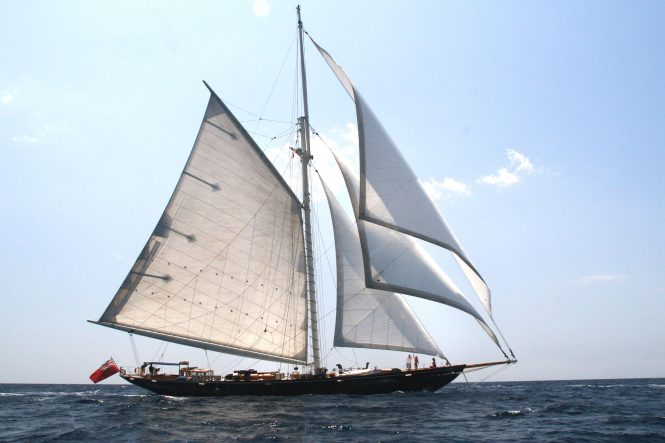 Luxury sloop ALEXA - Built by Gdansk & Jarlow Filipiak