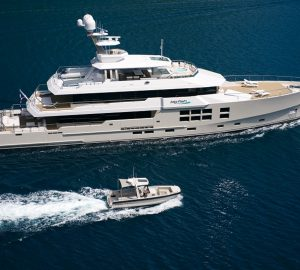 Charter superyacht Big Fish in New Zealand and Papua New Guinea