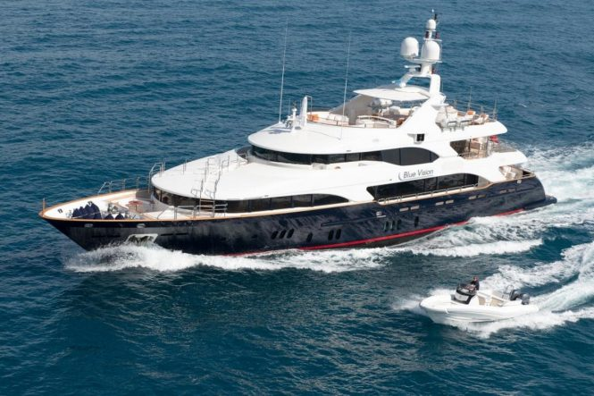 Luxury yacht BLUE VISION - Built by Benetti