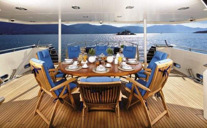 Luxury yacht MAGIX - Main deck aft