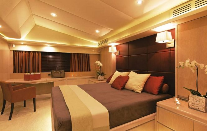 Luxury yacht MAGIX - Master suite