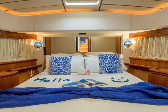 Luxury yacht MELI - Guest suite