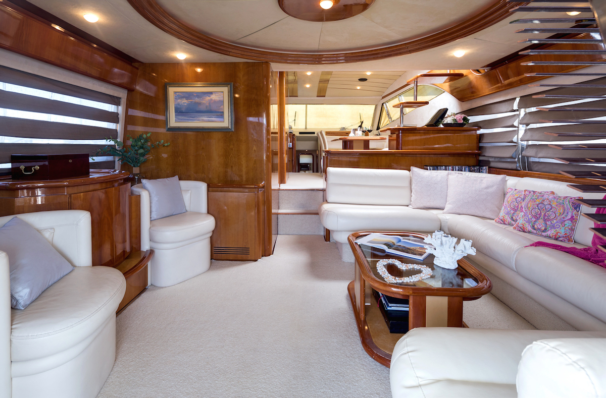 Luxury yacht MELI - Salon