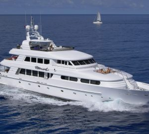 Charter luxury yacht Nicole Evelyn in the Caribbean and Bahamas
