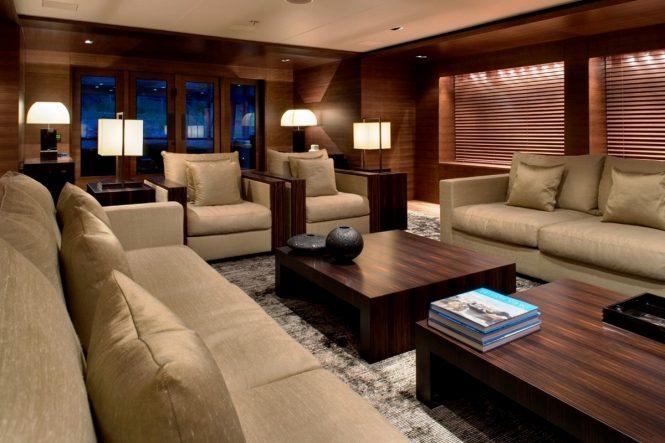 Luxury yacht ODESSA - Main salon