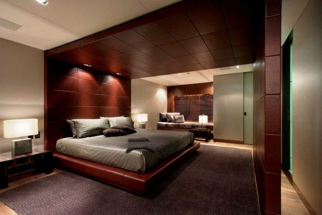 Luxury yacht ODESSA - Master suite