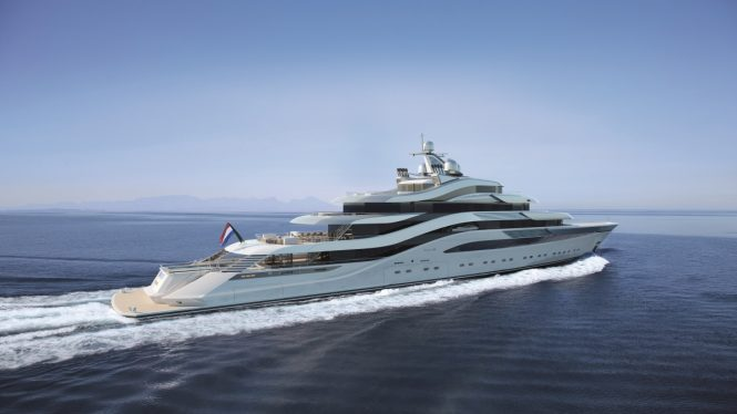 Luxury yacht POLLUX - Profile