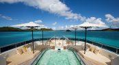 Luxury yacht ROMA - Sundeck spa pool