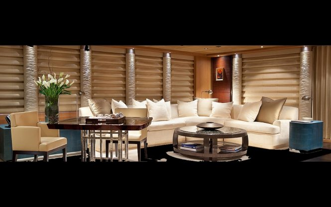 Luxury yacht SUNRAYS - Main salon