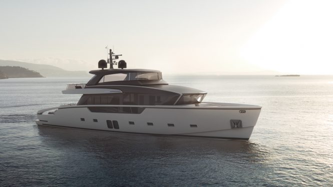 Luxury yacht SX88 - Built by Sanlorenzo
