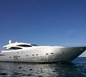 Charter open yacht Tiger Lily of London in the Balearic Islands today