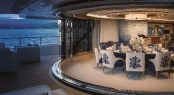 M/Y CLOUD 9 - Upper deck aft formal dining area