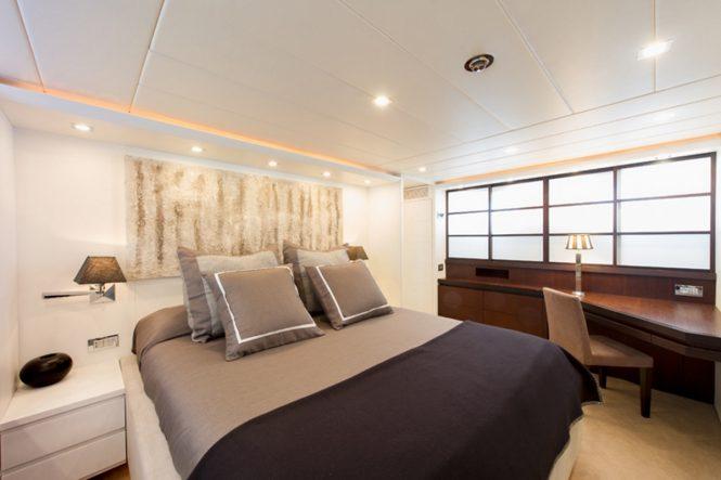 M/Y LEX - Master suite
