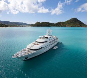 Charter stunning superyacht RoMa in the Western Mediterranean