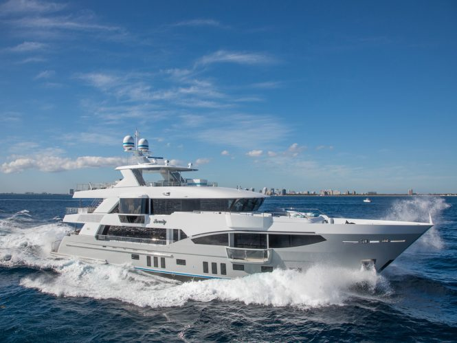 M/Y SERENITY - Built by IAG Yachts