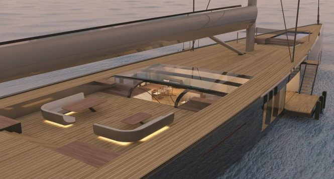 Malcolm McKeon Yacht Designs 78m sloop - PROJECT MM78