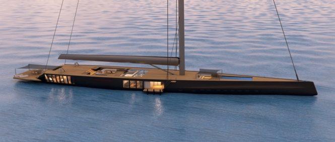 Malcom McKeon luxury sloop concept - PROJECT MM78