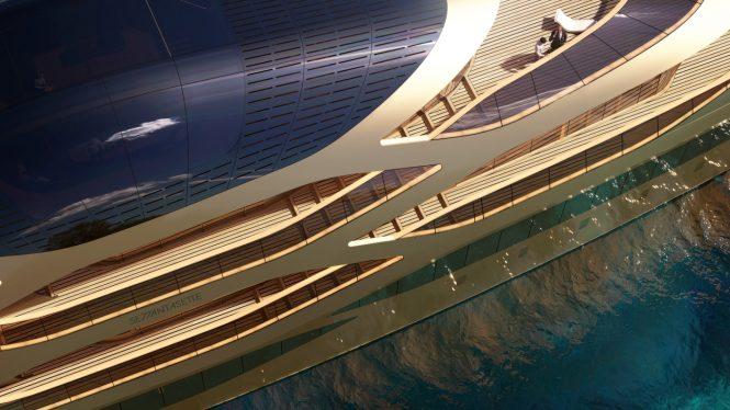 Mega yacht SE77ANTASETTE - Observatory and detailing