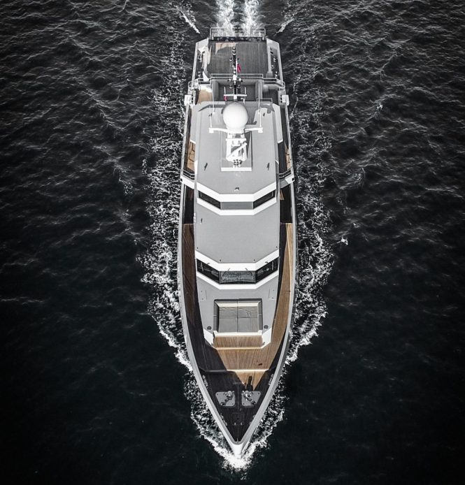 Military-styled superyacht PROJECT CYCLONE - Recently delivered and built by Tansu Yachts
