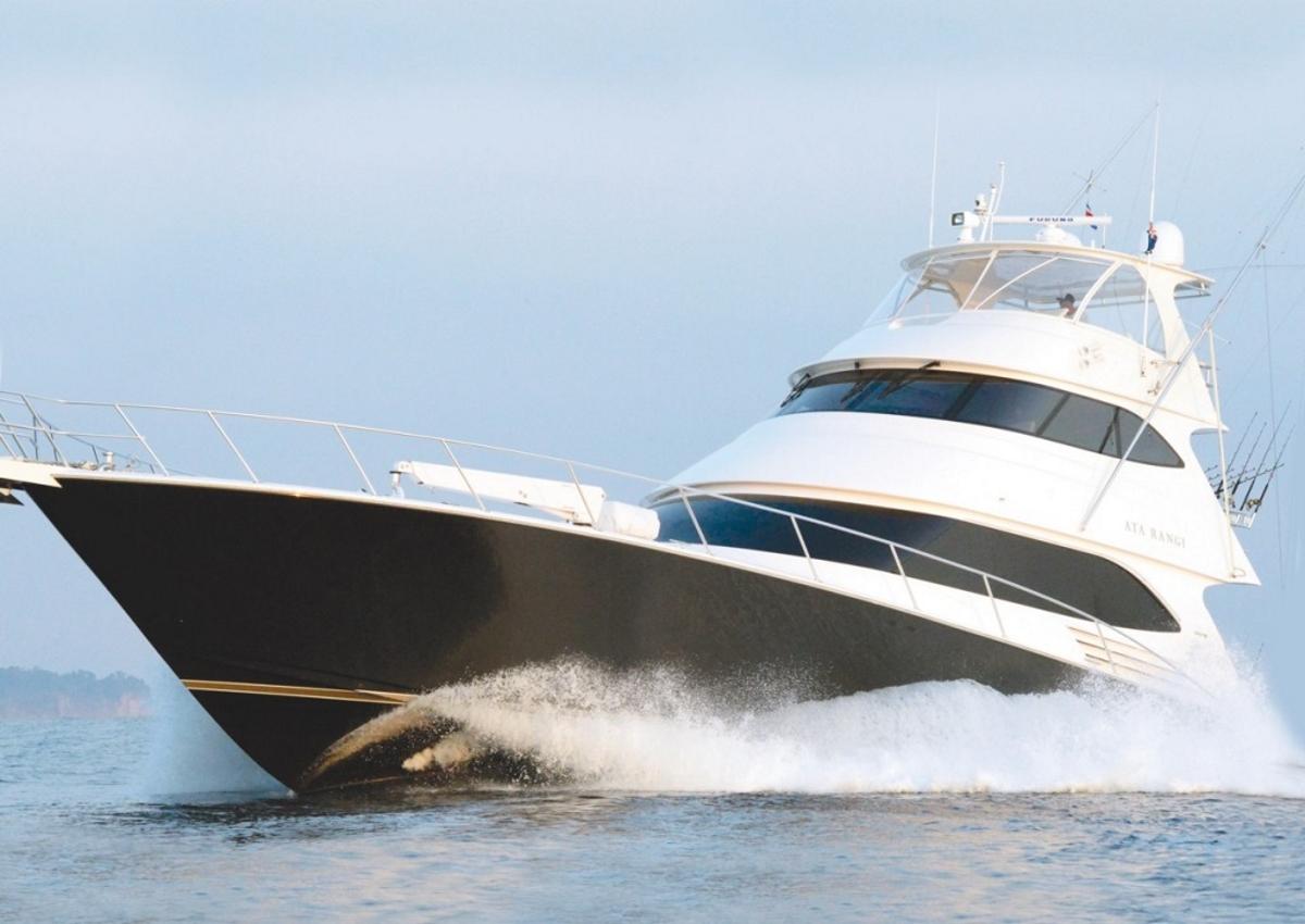 Motor yacht ATA RANGI - Built by Viking Yachts