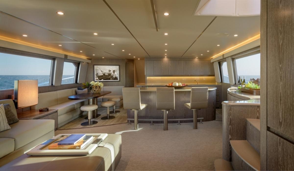Motor yacht ATA RANGI - Salon