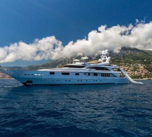 Water toys-packed luxury yacht Air available in the Western Mediterranean