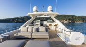 Motor yacht ALEKSANDRA I - Sundeck lounge and bar