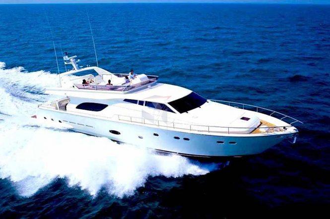 Motor yacht AMOR - Built by Ferretti